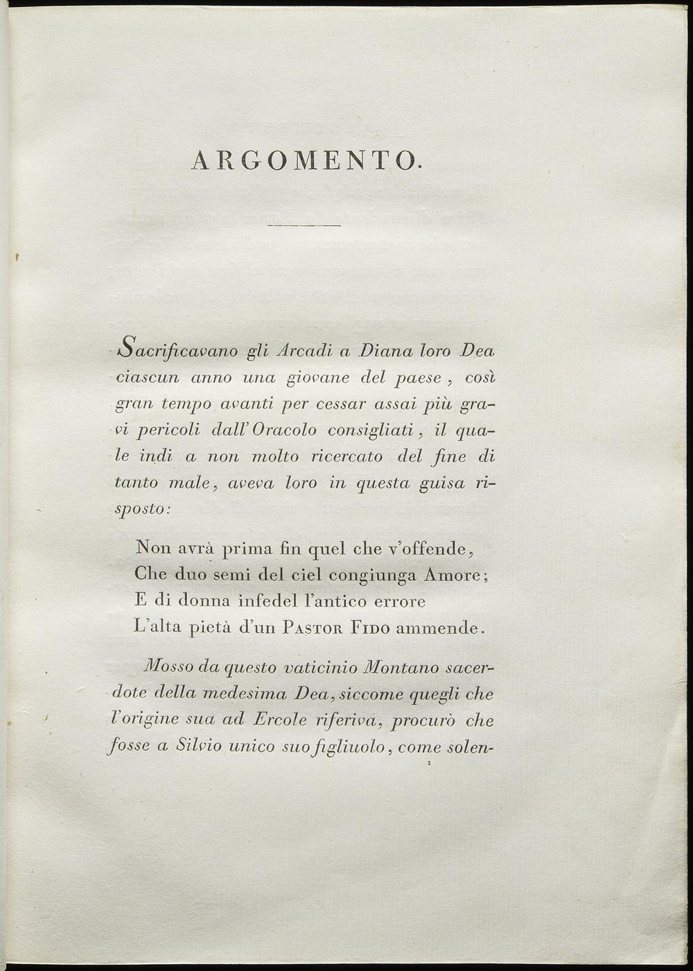 Giambattista Bodoni,  Pastor Fido  by Giambatista Guarini, Parma, 1793, 21 x29 cm