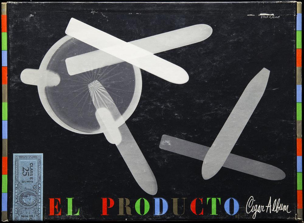 Paul Rand,  El Producto Cigar Album  (box), circa 1952, 29 x 21.3