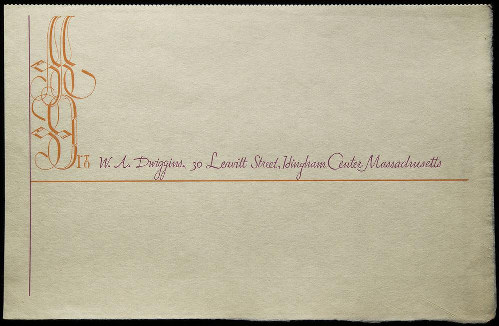 Invoice form, circa 1935, 20.5 x 13 cm