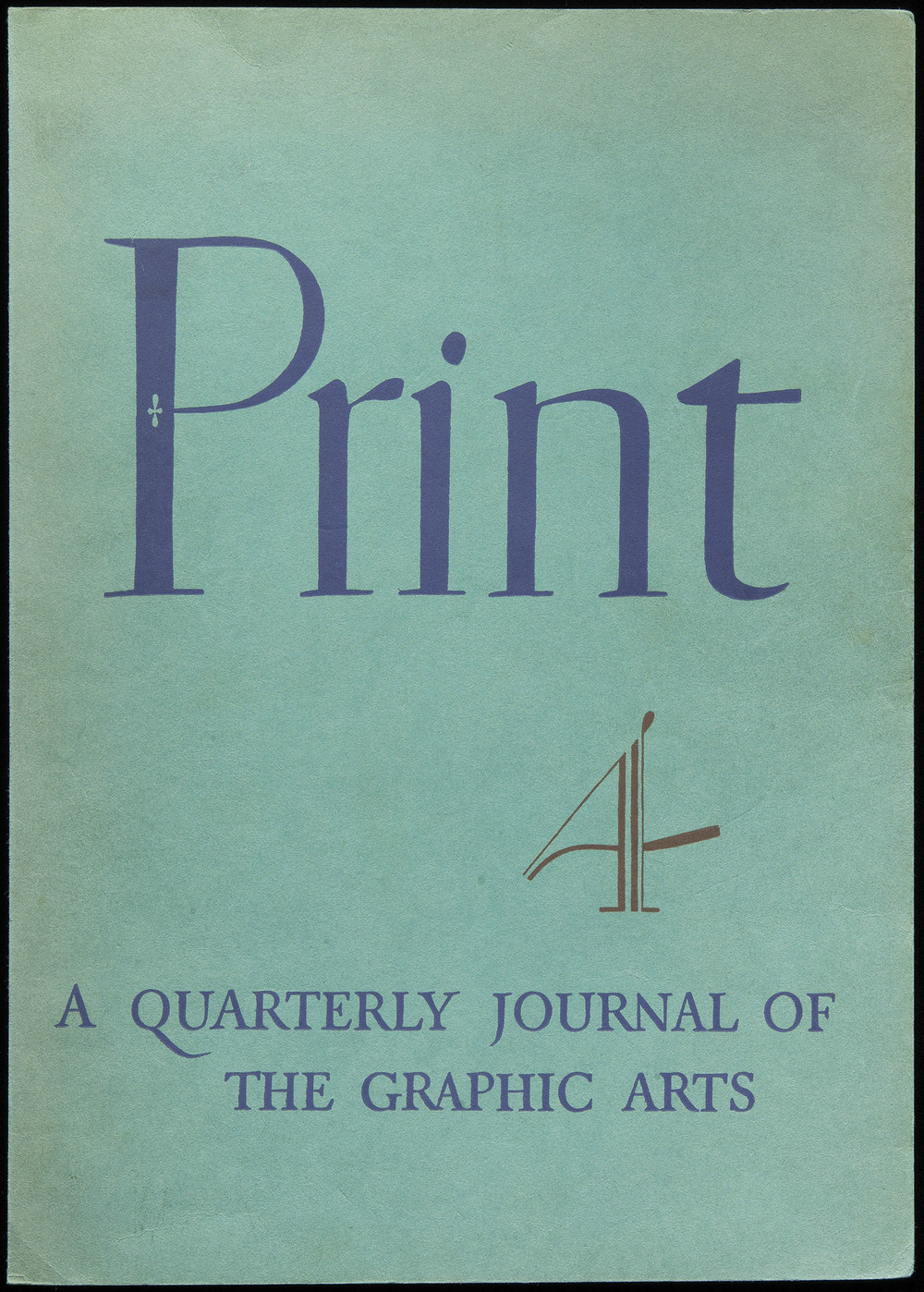 Cover of  Print  magazine, 1941, 18 x 25 cm