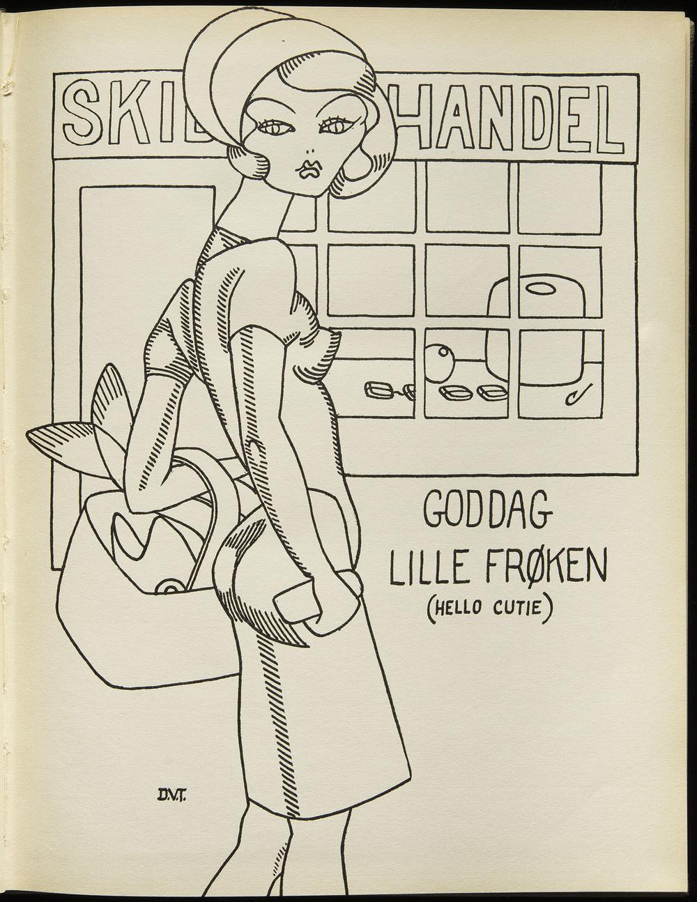 Dudley Vaill Talcott,  Noravind , Edwin Valentine Mitchell, Hartford, 1929, 19.5 x 25 cm