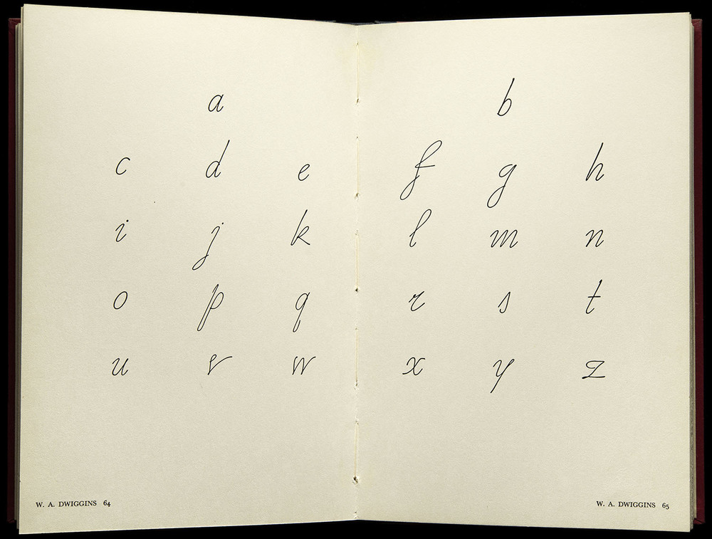 American Alphabets  by Paul Hollister, Harper, New York, 1930, 29.8 x 22.5 cm