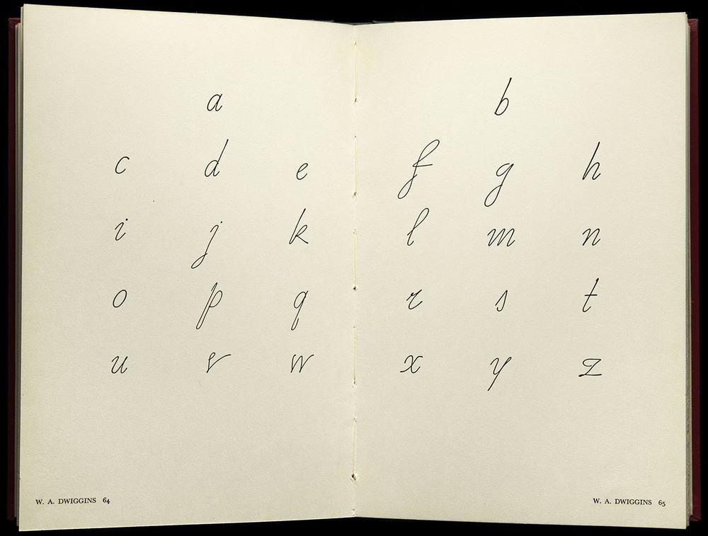 American Alphabets  by Paul Hollister, Harper, New York, 1930, 29.8 x 22.5 cm