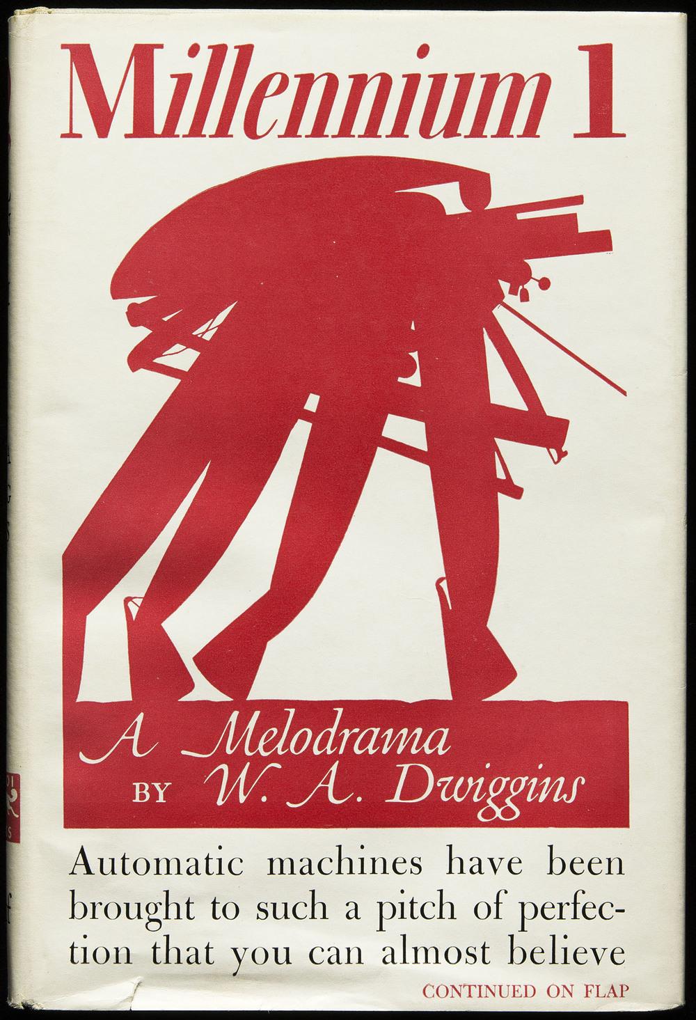 Millenium 1 , Knopf, New York, 1945, 12.2 x 18.1 cm