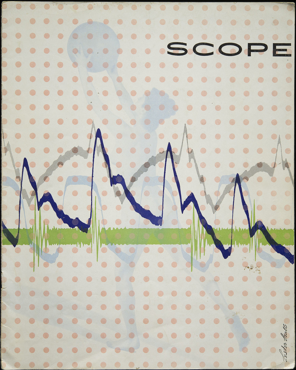 Lester Beall,  Scope  magazine, The Upjohn Company, Kalamazoo, 1948, 23 x 28.8 cm