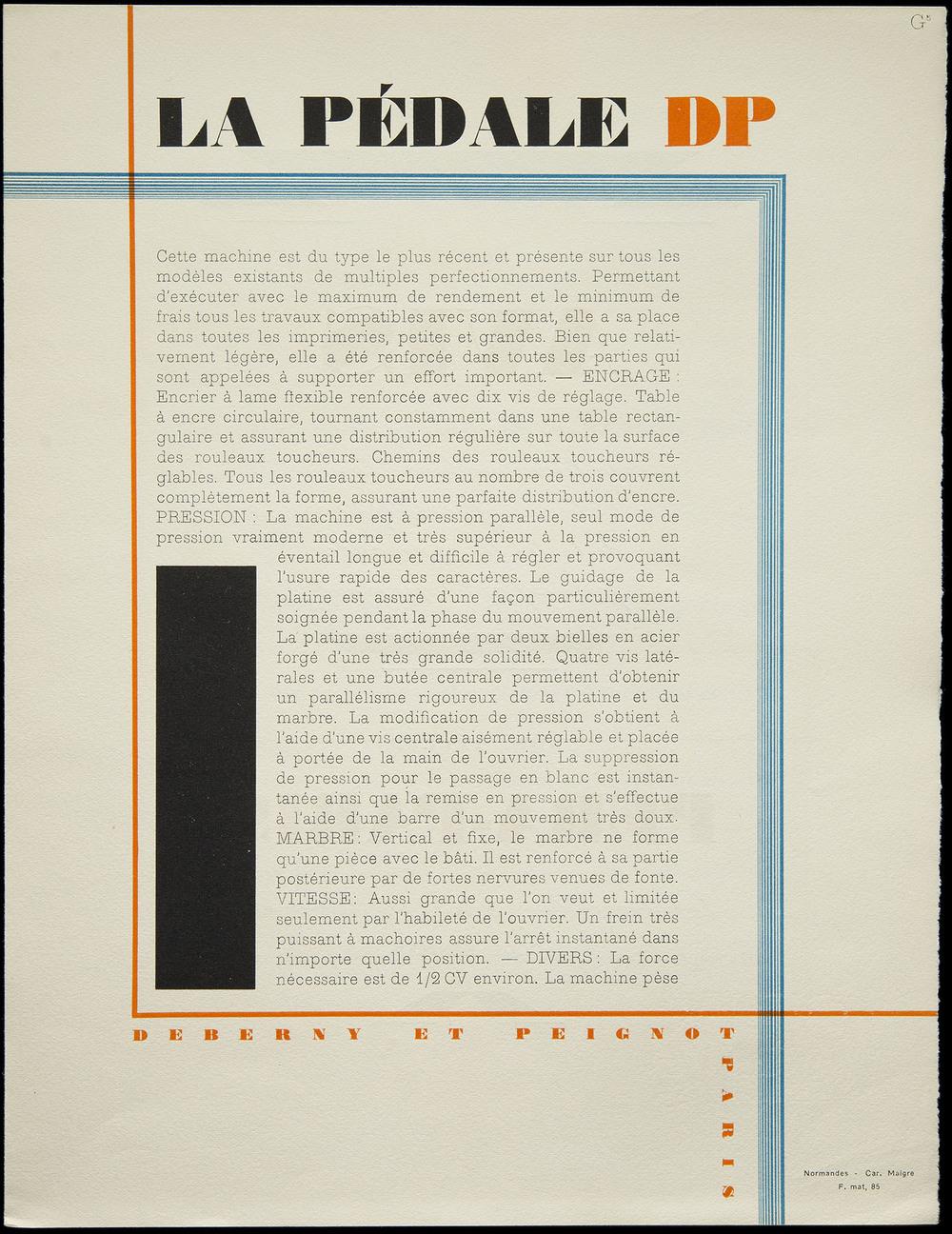 Maximilien Vox,  Les Divertissements Typographiques 3 , Deberny & Peignot, Paris, 1930, 21.3 x 27.6 cm