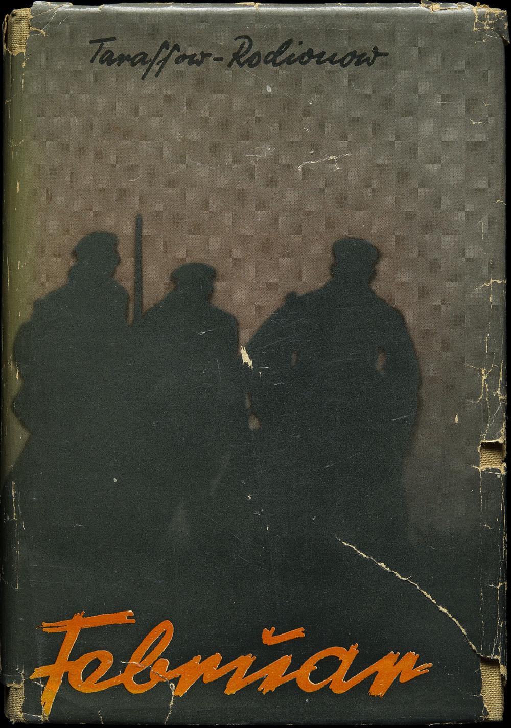 John Heartfield,  Febrüar  by Tarassow-Rodionow, Neuer Deutscher Verlag, Berlin, 1930, 13.3 x 19.2 cm