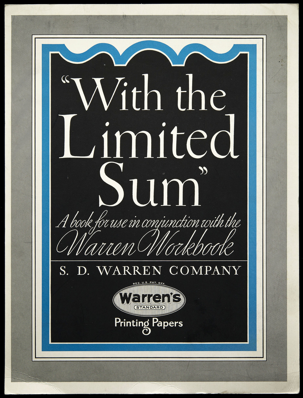 Brochure for Warren's Paper, circa 1930, 21 x 28 cm