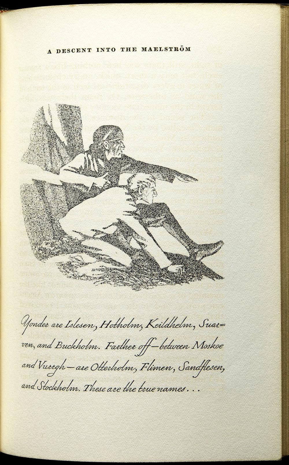 Tales  by Edgar Allen Poe, Lakeside Press, Chicago, 1930, 12.7 x 18.8 cm