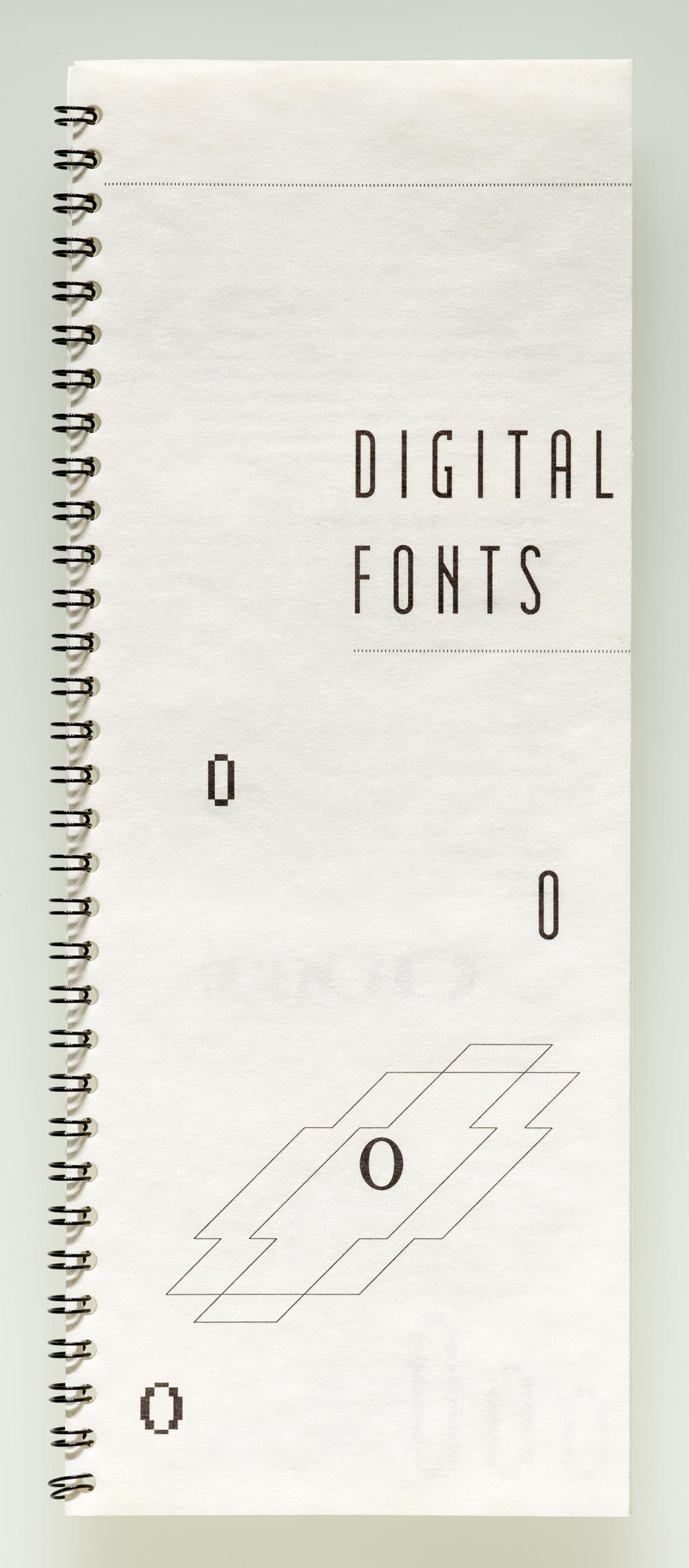 Digital Fonts catalog, 1986