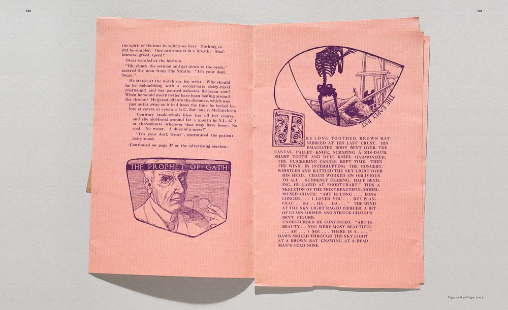 Spread from the upcoming book, with an almost 3-D photograph of an actual-size item