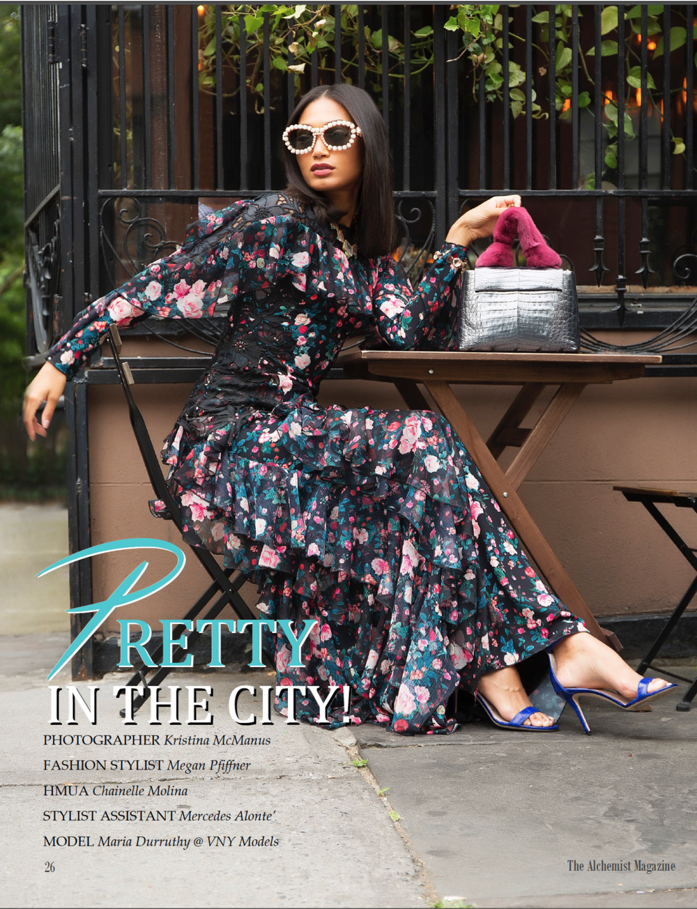 Pretty in the City for The Alchemist Magazine