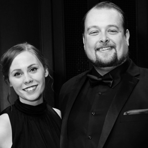 Madeline Slettedahl (pianist) and Ben Lowe (baritone)
