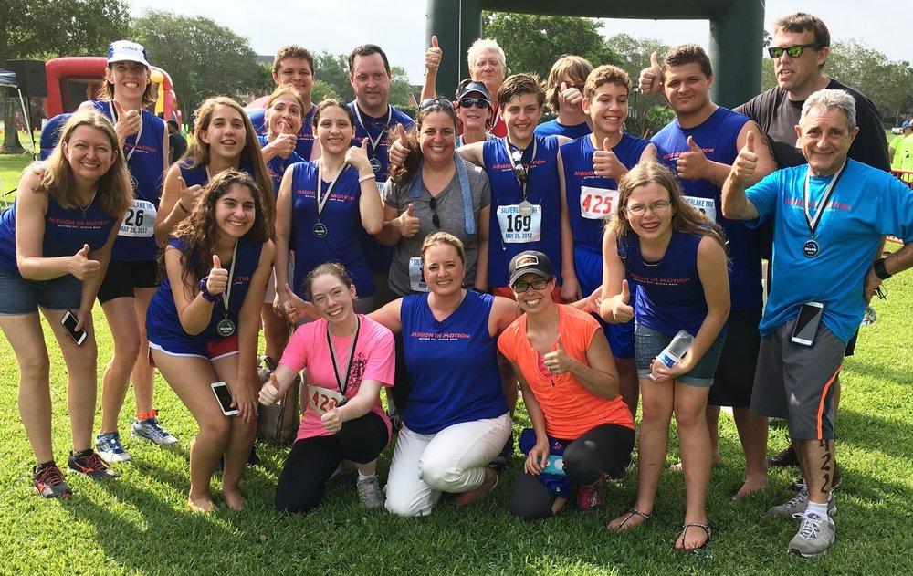 Mission in Motion team at Silverlake Triathlon