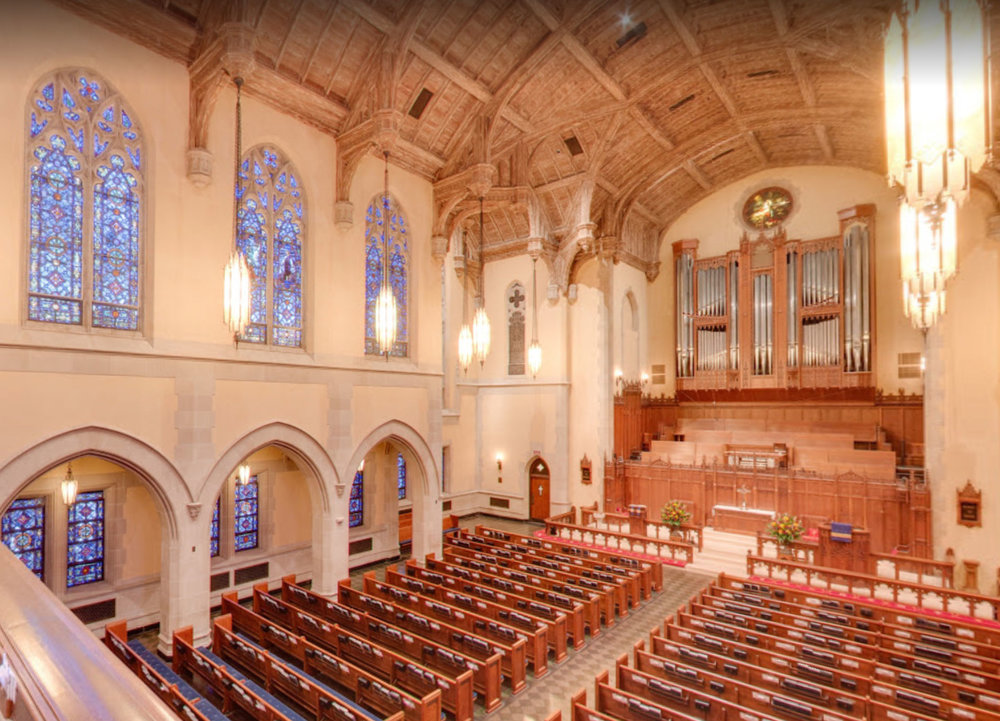 From balcony in the Sanctuary