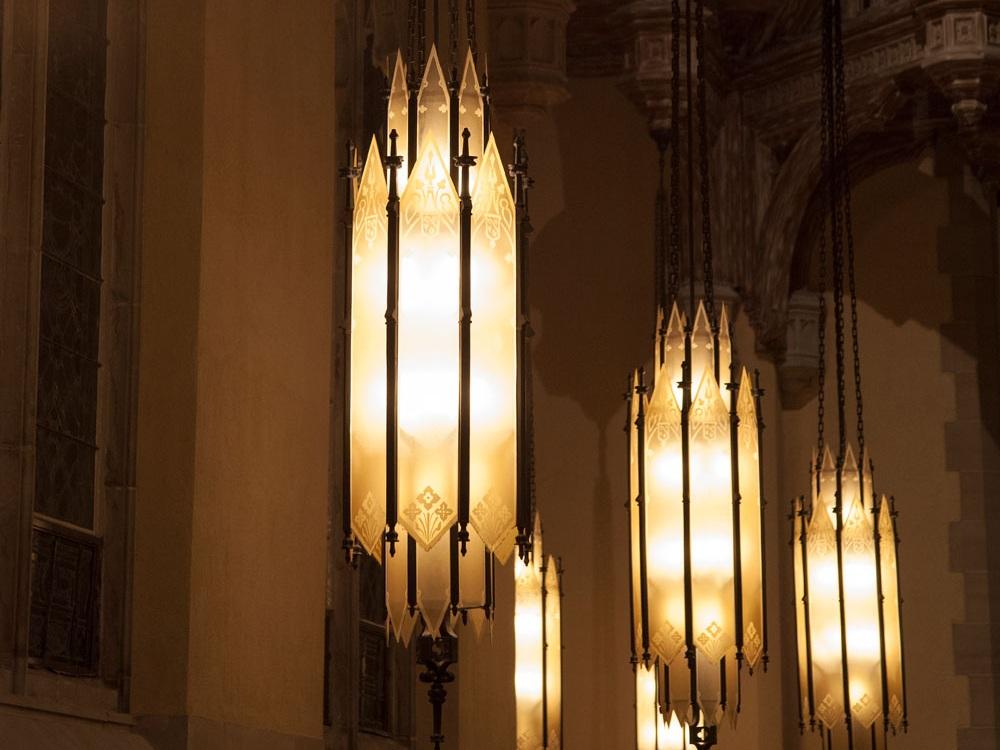 Lanterns in the Sanctuary