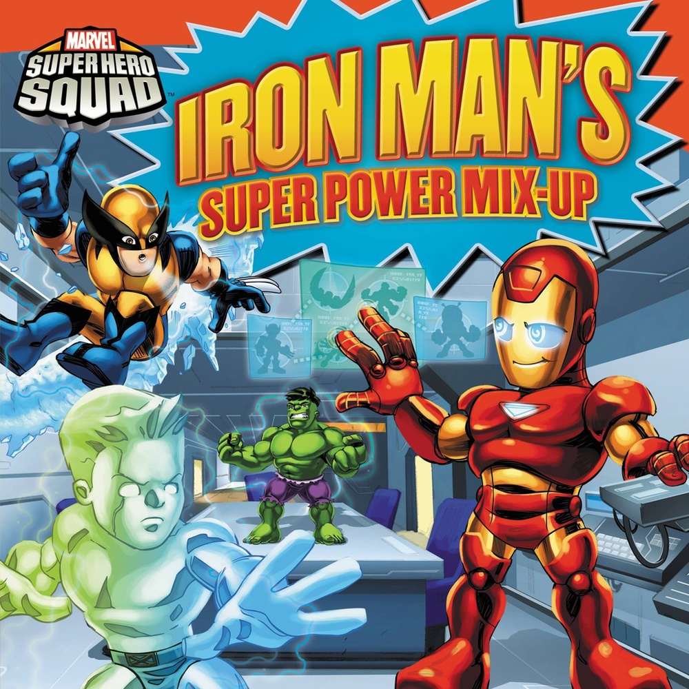 Iron Man: Super Power Mix-Up