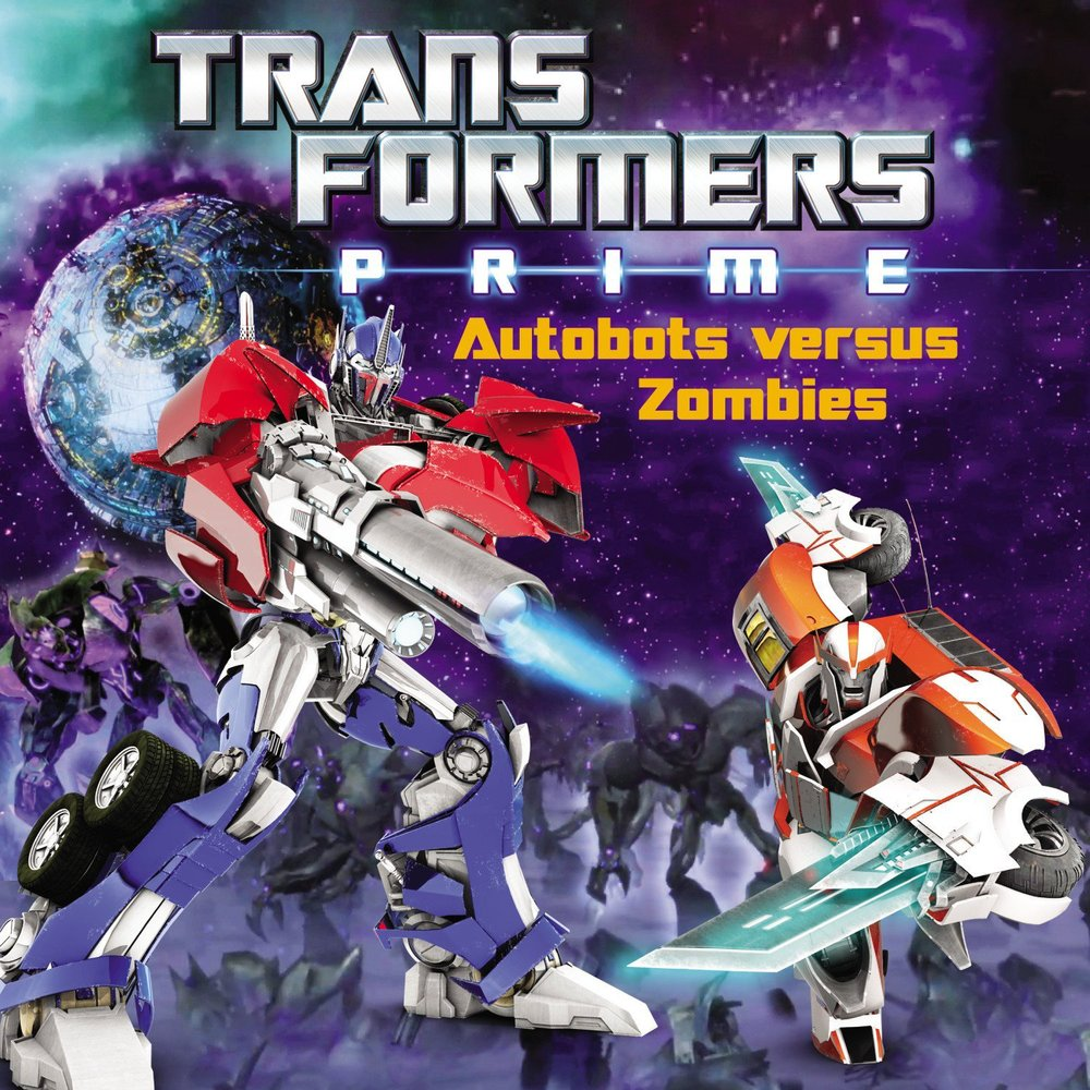 Megatron discovers further powers of Dark Energon and raises an army of undead robots! It's night of the living Terrorcons as Optimus Prime and the Autobots fend off these zombie Transformers.       http://www.amazon.com/Transformers-Prime-Autobots-versus-Zombies/dp/0316188689/ref=sr_1_1?ie=UTF8&qid=1391987725&sr=8-1&keywords=Zachary+Rau