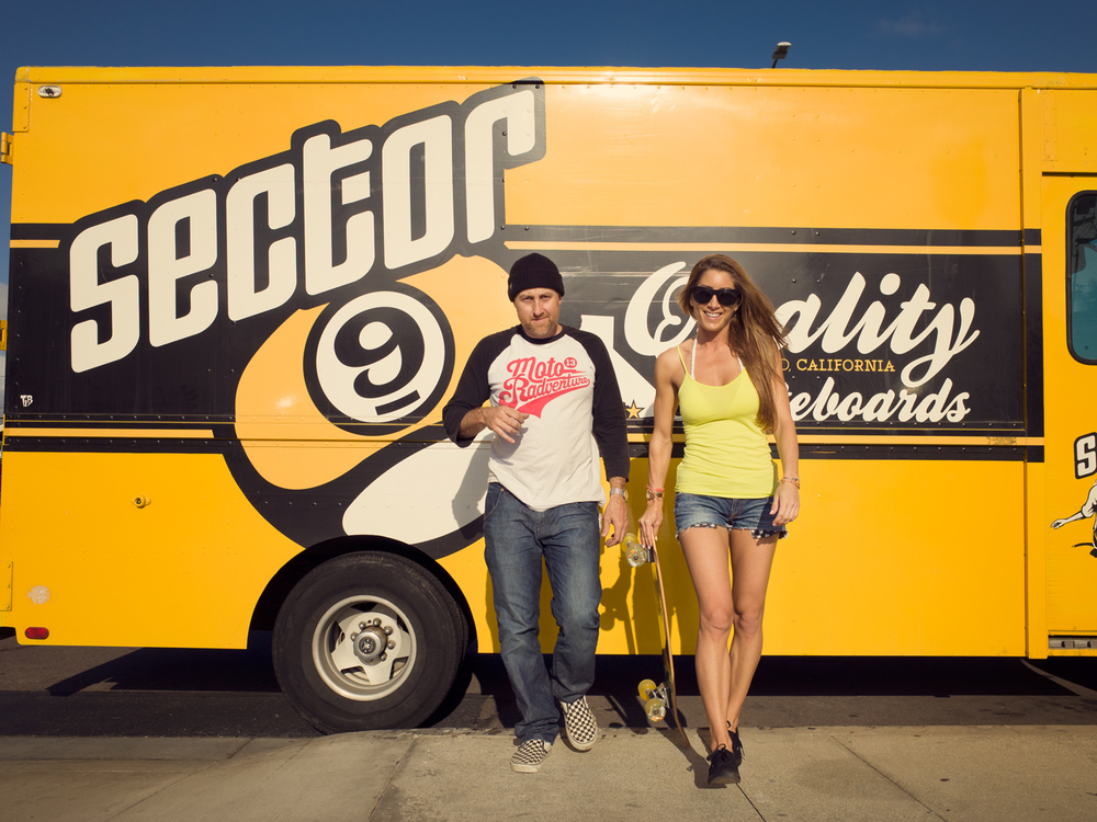 Jeff Budro from Sector9 and Stacey Brooke.