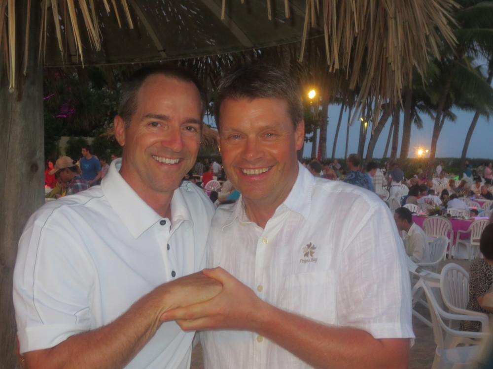 Dan McCormick and Benni
