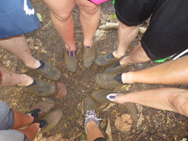 ...and muddy