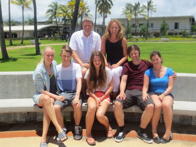 The whole family - one of the few photos of us all