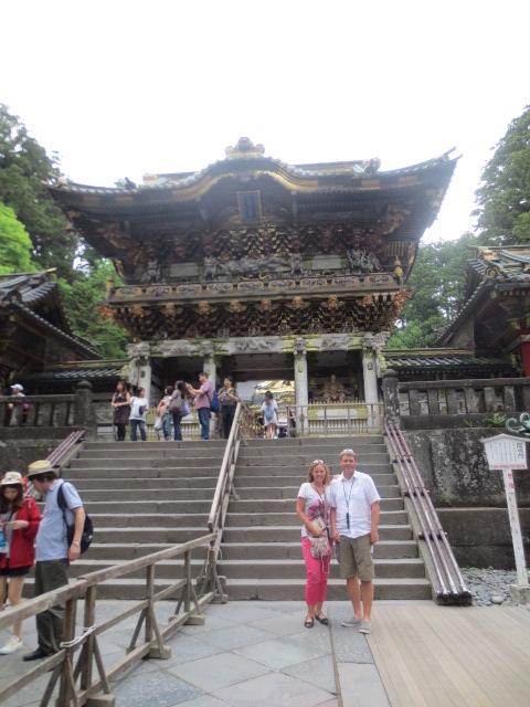 At the Toshogu shrine near Nikko