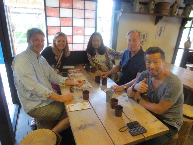 Lunch at Edo Wonderland