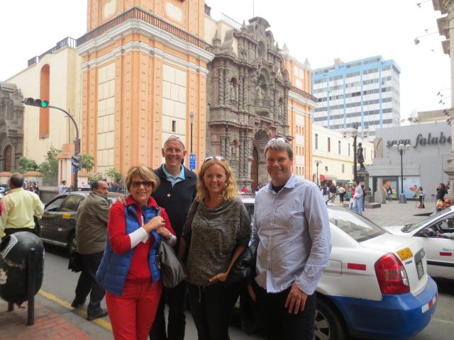 Ditta, Kristjan, Gudrun and Benni