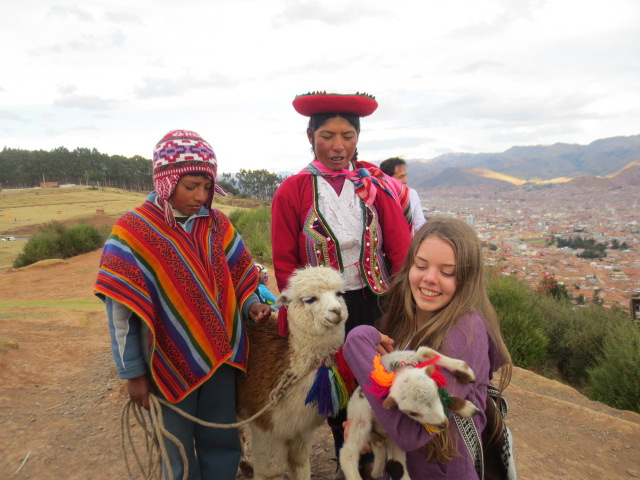The little lama wanted to get away