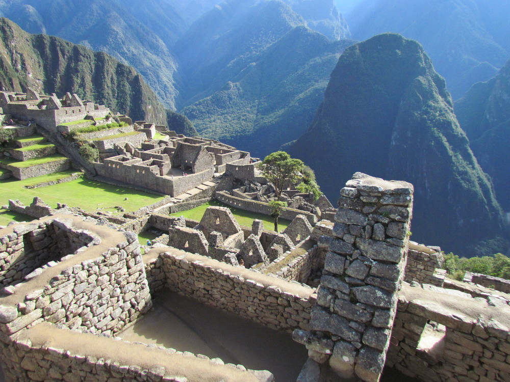 We learned about the daily living of the Incas