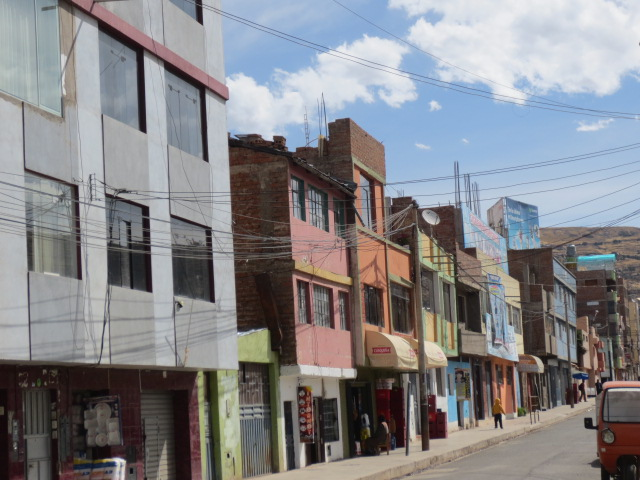 A trip down town Puno