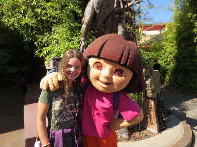 Dora and Dora he he..