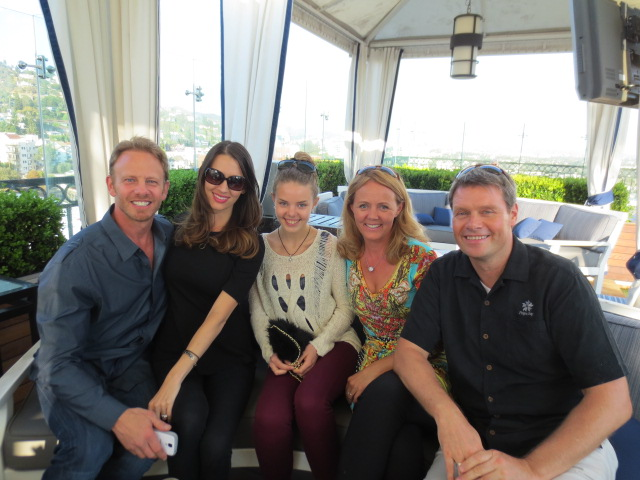With Ian and Erin Ziering