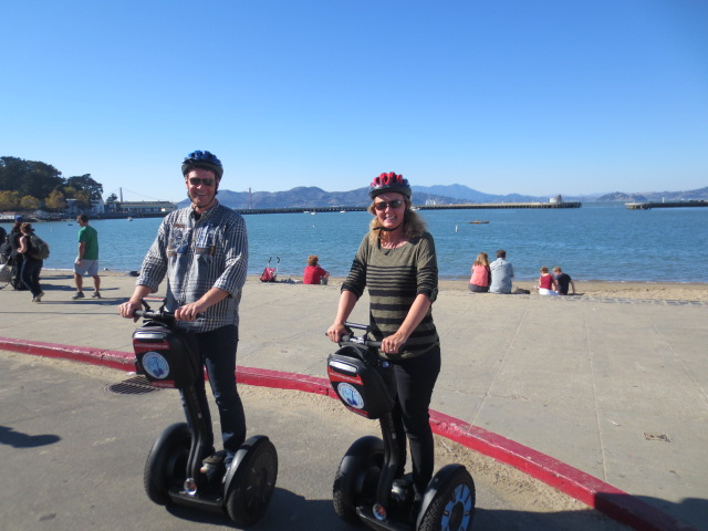 On a three hour Segway tour you have time to relax and enjoy