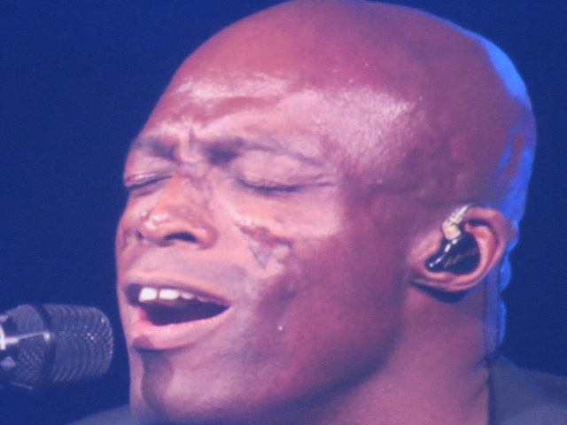 Seal´s performance had us all in awe!