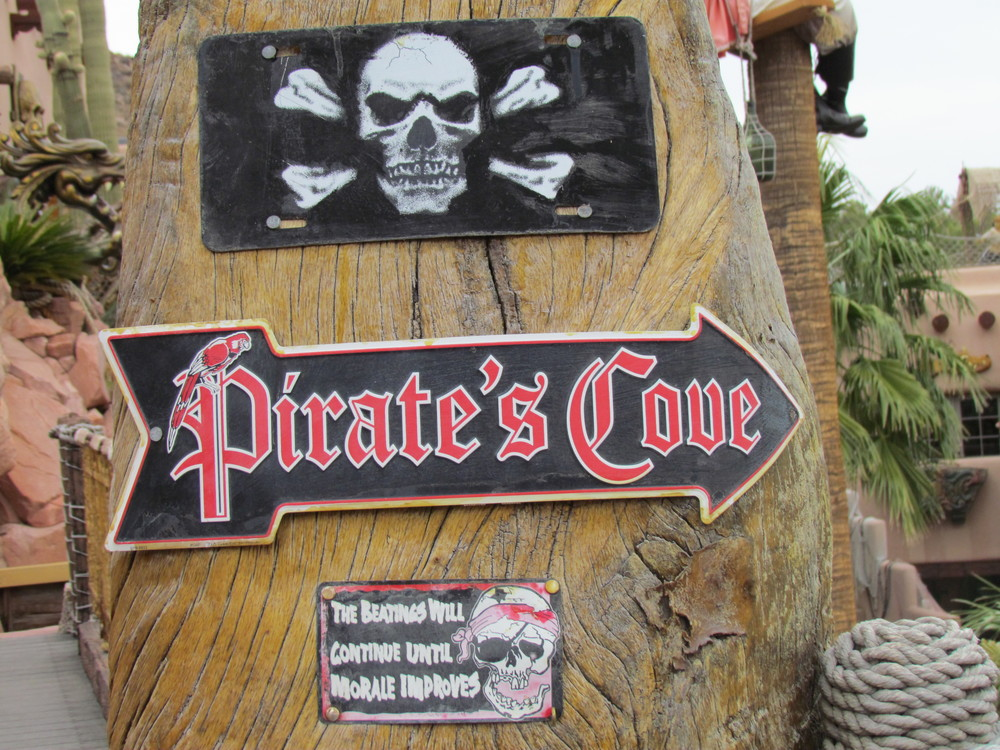 "Pirate´s Cove is just a perfect name for this adventure park.  This is little example of the ""decorations""."