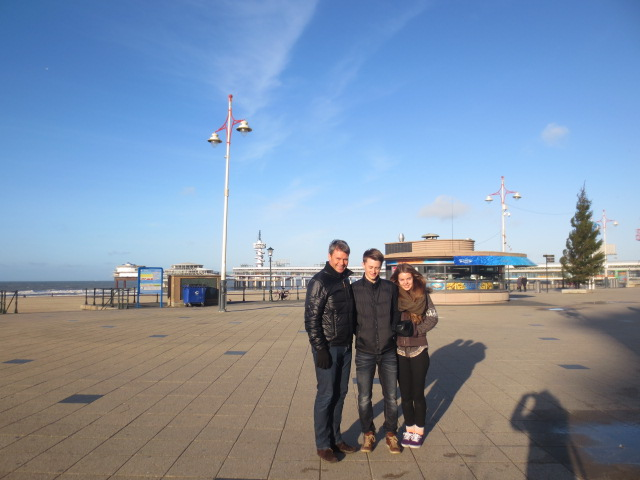 We only stopped a short while in Scheveningen as it was pretty windy and pretty cold