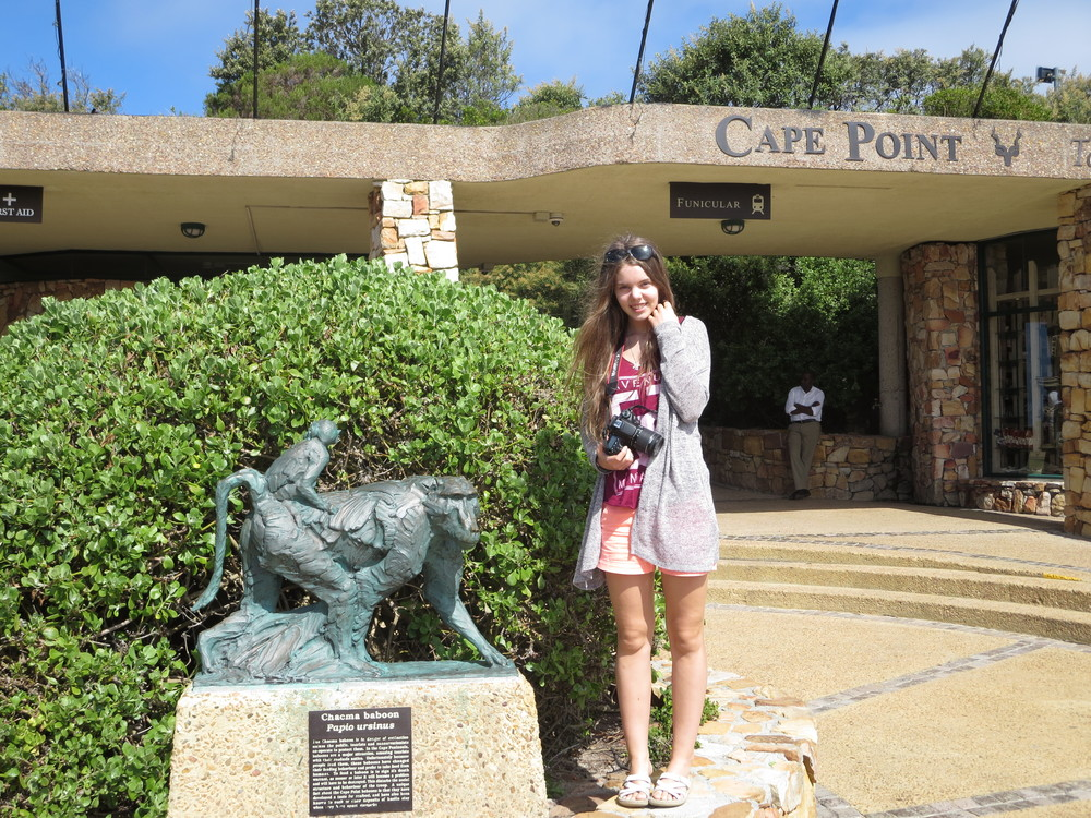 We went down to Cape Point