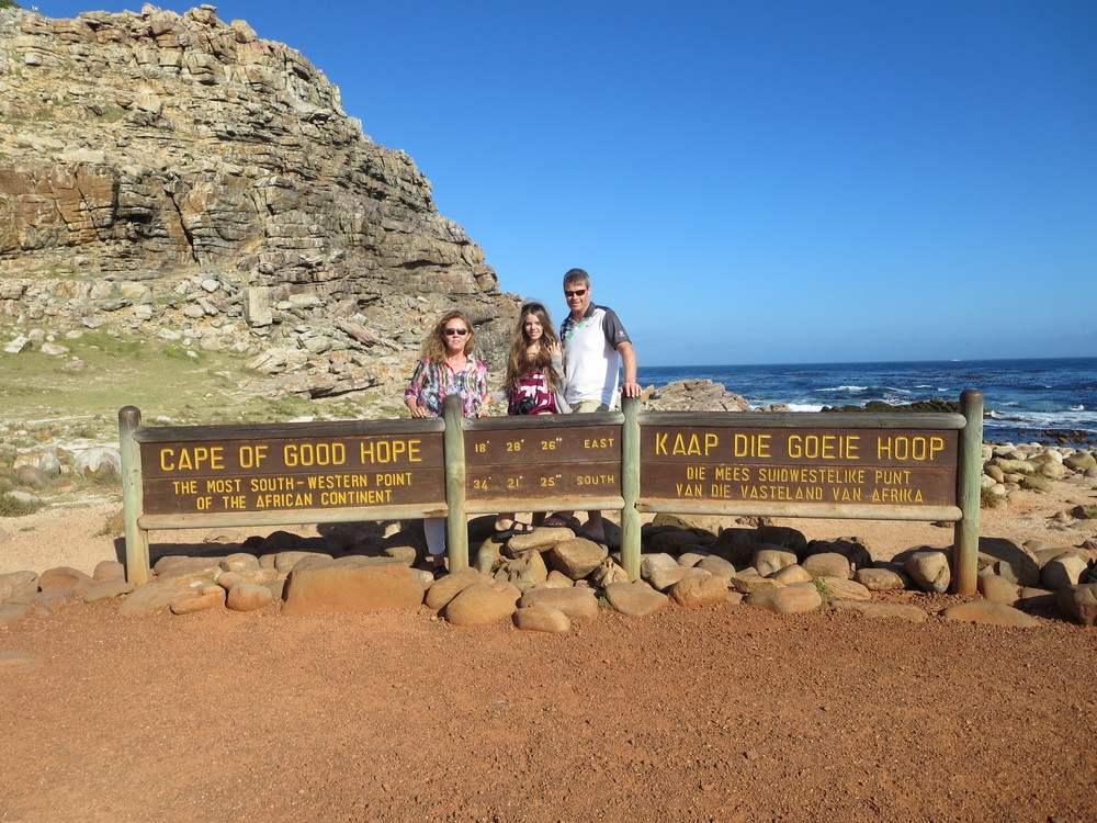 Cape of Good Hope - We (Gudrun and Benni) have a similar photo from 11 years ago