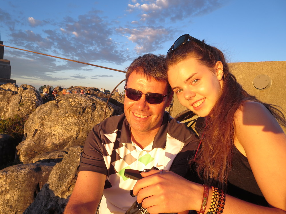 Sunset on Table Mountain