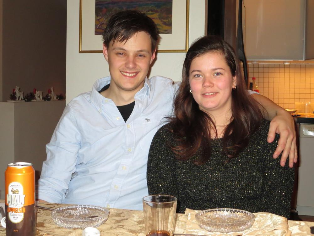 Björn Andri and Eva