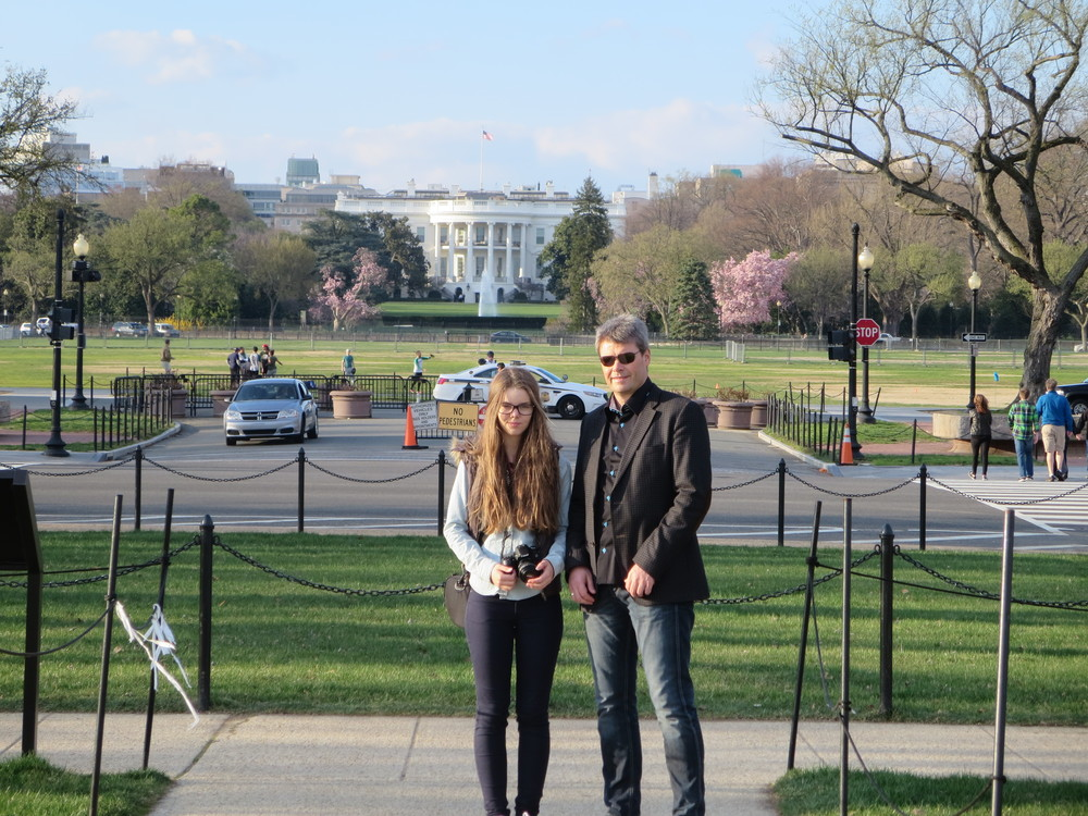 Benedikt and Dora - and The White House