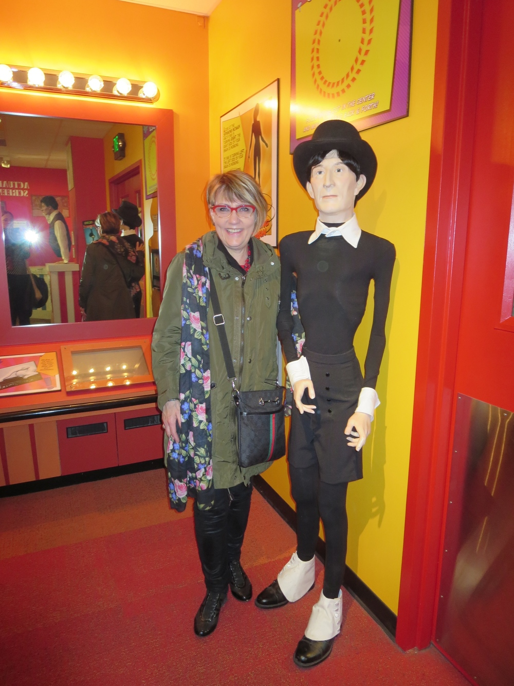 Ditta found the thinnest man - not wanting to imitate that