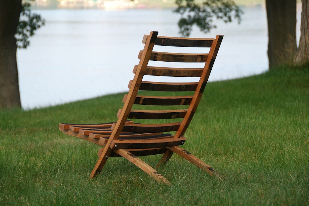 Merveilleux Bourbon Barrel Beach Chair