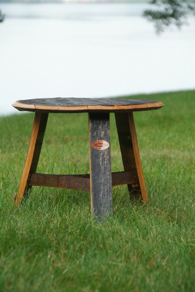 Awesome Bourbon Barrel Table
