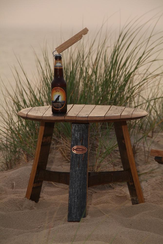 Delicieux Bourbon Barrel Table