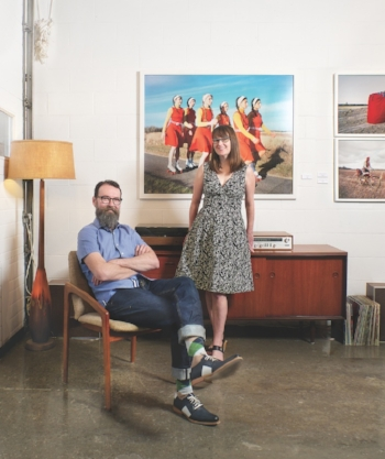 "Canadian ART     ""At Central Art Garage, a reclaimed auto-mechanic shop in Chinatown, Danny Hussey and Bridget Thompson have created one of Ottawa's most exciting hubs of contemporary art."""