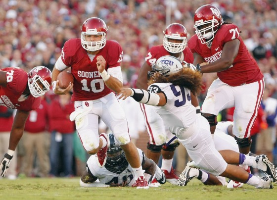 One of many timely runs by big Blake Bell. (Photo courtesy:   washingtonpost.com  )