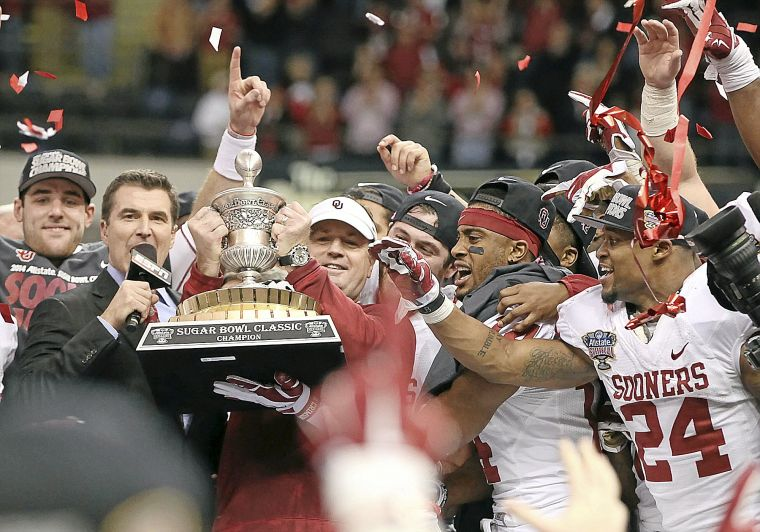 The Sooners will be looking for more than a Sugar Bowl trip this year. (Photo courtesy: tulsaworld.com)